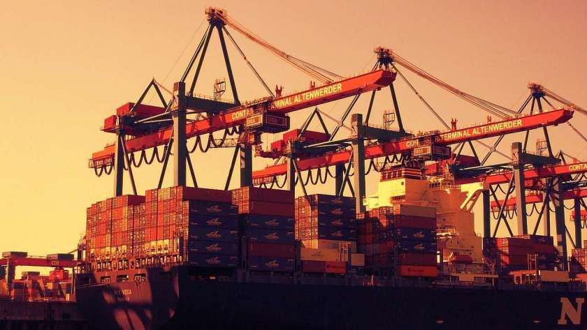 貨物船のイメージ。