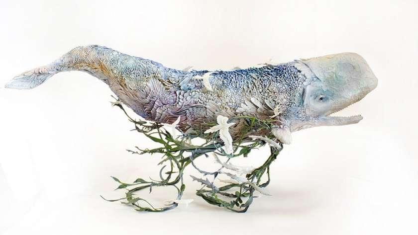 Ellenj Jewett のクジラの作品。